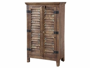 Stein World 12321 Louvered 2-Door Cabinet