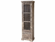 Stein World 12325 Tall Wood Cabinet with 1 Door