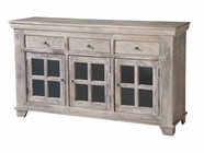 Stein World 12332 Console with 3 Drawers & 3 sliding Doors