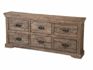 Stein World 12333 6-Drawer Wood Console