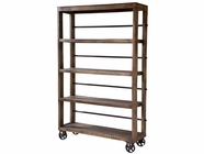 Stein World 12341 Rolling Wood Shelving Unit