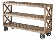 Stein World 12344 Rolling 3-Shelf Cart
