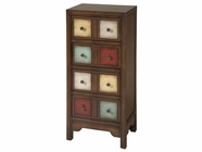 Stein World 12366 4-Drawer Multi-Colored Cabinet