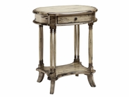 Stein World 12370 Oval side Table with1 Drawer