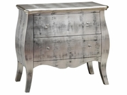 Stein World 12372 2-Drawer Antique Silver Chest