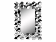 Stein World 12381 Mirror withMirrored Tile Frame