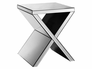 Stein World 12384 Mirrored Corner Table