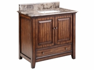 Stein World 12386 Marble Topped Single Sink Vanity
