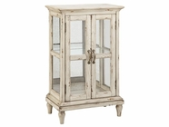 Stein World 12404 2-door Glass-Side Cabinet