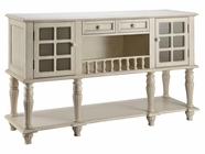 Stein World 12411 White Window Pane Sideboard