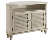 Stein World 12412 Corner Media Cabinet with2 Louvered Doors