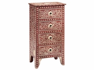 Stein World 12421 4-Drawer Painted Cabinet