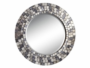 Stein World 12437 Mirrored-Tile-Framed Mirror