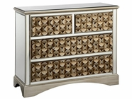 Stein World 12443 3-Drawer Mirrored Chest