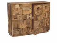 Stein World 12470 LULU ALPHABET SIDEBOARD WITH 2 Drs.
