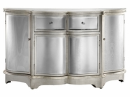 Stein World 12511 Curved Mirrored 4Dr 2Dw Credenza