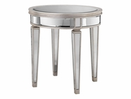 Stein World 12514 Round Mirrored Accent Table