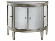 Stein World 12518 Demilune Chest 4Dr Mirrored