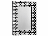 Stein World 12598 Brick design mirror