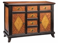 Stein World 12618 2-door, 6-Drawer cabinet