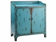 Stein World 12628 2-door blue cabinet