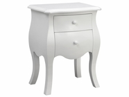 Stein World 12653 2 Drawers Cabinet White
