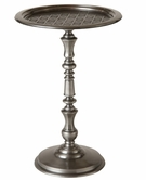 Stein World 12669 Etched top metal side table
