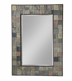 Stein World 12678 Mosiac stone mirror