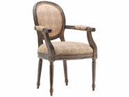 Stein World 12938 Accent Chair w/Suzani Poppy Fabric