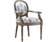 Stein World 12939 Accent Chair w/New Delhi Royal Fabric