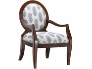 Stein World 12949 Accent Chair w/ New Delhi Royal Fabric