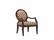 Stein World 12950 Accent Chair w/Hypnotize Latte Fabric