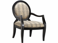 Stein World 12954 Accent Chair w/Slither Python Fabric