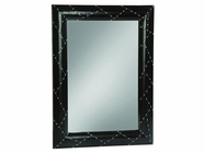 Stein World 12990 Black Aluminum Framed Mirror