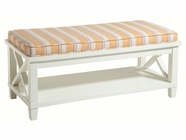 Stein World 13005 Cabana stripe bench