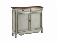 Stein World 13018 Cupboard 2Dr 2Dw Antique Gray