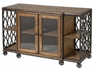 Stein World 249-055 Wood & Metal Media Console Table