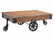 Stein World 390-019 POPLAR ESTATE CART TABLE