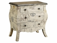 Stein World 47682 THE TRAVELER 3-DRAWER BOMBE