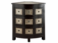 Stein World 47734 GRETTA 3-DRAWER CORNER CHEST