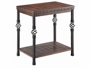 Stein World 490-041 SHERWOOD CHAIRSIDE TABLE