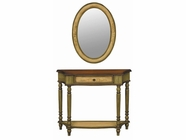 Stein World 59924 PAIGE CONSOLE/MIRROR SET