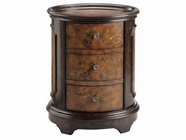 Stein World 80878 AUTUMN 3-DRAWER OVAL CHEST