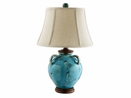 Stein World 90033 AGATHA BLUE CERAMIC LAMP