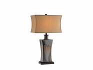 Stein World 95651 GLASCOW DRIP GLAZE LAMP