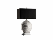 Stein World 95654 PARI SILVER LAMP