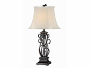 Stein World 96618 2 PACKAGE SUVAN SCROLL LAMP