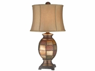 Stein World 96704 2 PACKAGE DELIAH PATCHWORK LAMP