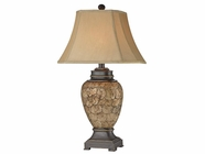 Stein World 96790 2 PACKAGE CAPE HORN SHELL LAMP