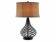 Stein World 98304 CASPER BASKET WEAVE LAMP